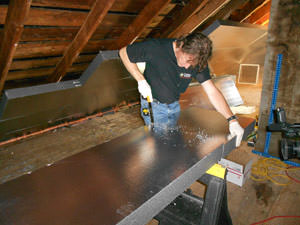 Rigid foam insulation services in albany county ny foam for Basement insulation wrap