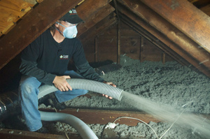 Attic Insulation installed in Latham